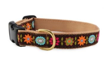Up Country Bella Floral Dog Collar X-Small, My Pet Supplies