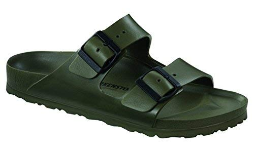 Birkenstock Women's Arizona EVA Sandals, Khaki, 38 Narrow EU, 7-7.5 US - Khaki Mens Sandals
