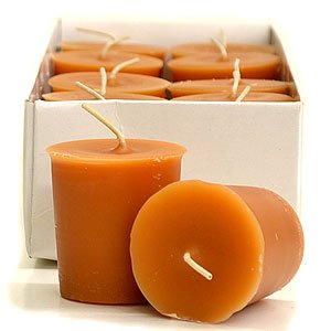 Votive Candles For Wedding/Dinner, Holiday Event, Home Decoration, 12 to 15 hours,1.75 in. diameter x 2 in. tall, 12 per box, Spiced Pumpkin