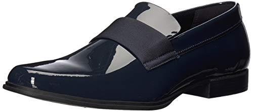 Calvin Klein Men's Demetrius Loafer, Davy Navy Patent, 8.5 Medium US