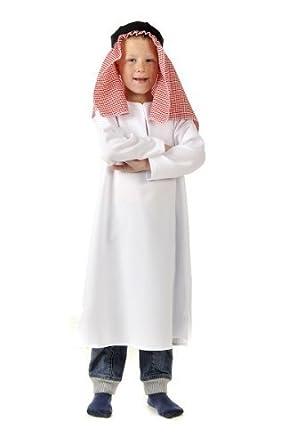 Boys Kids Childrens Arab Man Arabian Shepherd Inn Keeper Nativity Fancy Dress Costume 5-7  sc 1 st  Amazon UK & Boys Kids Childrens Arab Man Arabian Shepherd Inn Keeper Nativity ...