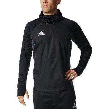 Adidas Tiro 17 Mens Soccer Warm Top M Black-Dark Grey-White ()