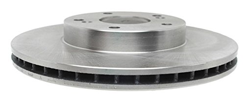 ACDelco 18A912A Advantage Non-Coated Front Disc Brake Rotor (Prostop Front Drilled Rotors)