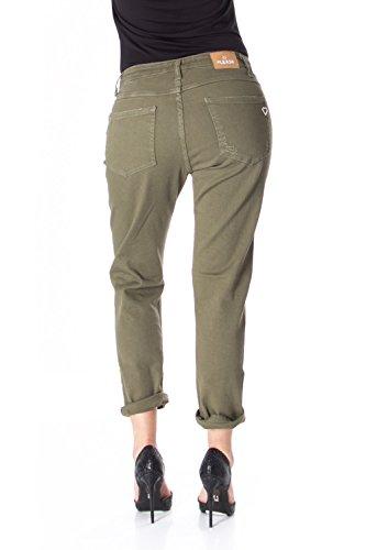 Verde Please Jeans Donna P66mhg1t84 P66 Strappato qPYXpPw