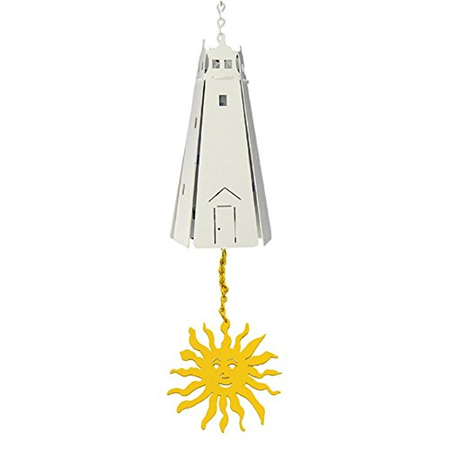 North Country Wind Bells Prospect Lighthouse™ with Sun Multi Tones - 5 Sided -