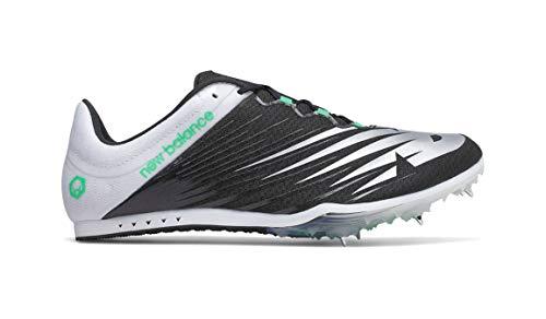 New Balance Men's 500v6 Track Shoe, Black/White, 9.5 D US