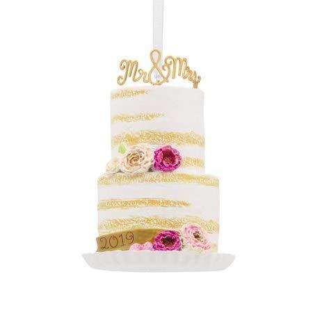 HMK Hallmark Wedding Cake Dated 2019 Tree Trimmer Ornament (Best Christmas Cakes 2019)