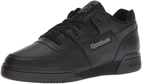 Reebok Basses Noir Plus Workout Baskets charcoal black Hommes tSpSr