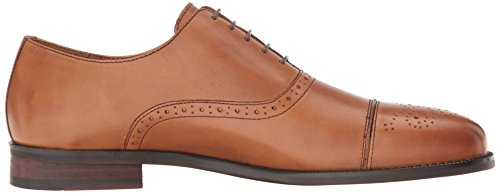 Steve Madden Heren Sovren Smoking Oxford Bruin Leer