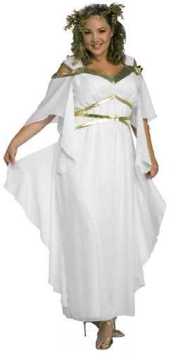 Rubies Womens Roman Goddess Costume ,White,One -