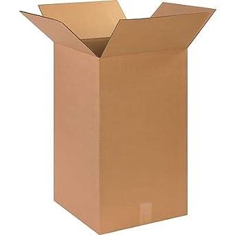 14 x 14 x 24 cajas de envío, 32 ECT, marrón, (141424) - 15 ...