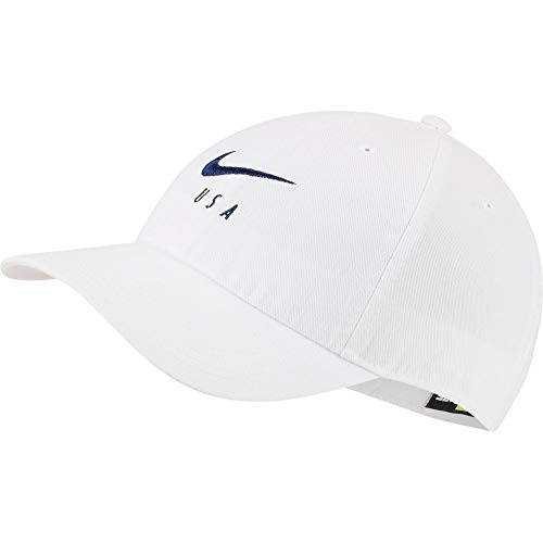 (Nike USA 2019 H86 Cap - White)