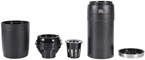 Machine à café électrique Amovible et Facile à Nettoyer Filtres réutilisables de démarrage à Un Bouton pour Le Camping au Bureau de Voyage en Famille