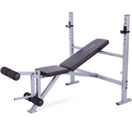 CAP Barbell' 500 lb Weight Capacity Strength Deluxe Weight Bench in Black, Powder-Coated Finish by CAP Barbell'