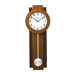 Bulova Avent Pendulum Deco Wall Clock - C3383