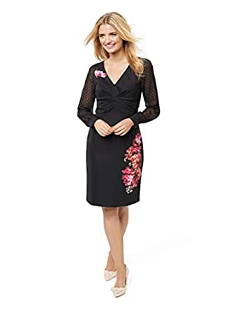 Review Women's Your Love Dress Black/Multi 14