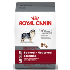 Royal Canin Medium Spayed/Neutered - 30lb