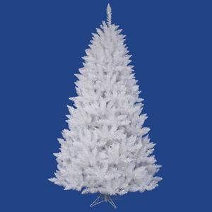 - Vickerman Spruce Christmas Tree, 6.5-Feet, Sparkle White