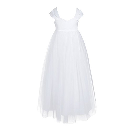 Amazon.com: Ygosoon New Girl Chiffon Flower Girls Dress Princess Pageant Birthday Formal Party Ball Gown Tulle Dress for Bridal Wedding: Clothing
