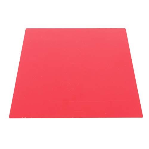 Rurah Multipurpose Bendable Transparent PVC Film 0.3MM Colorful Transparent Sheet Handmade DIY Cover Board Memory Recite Board Study -