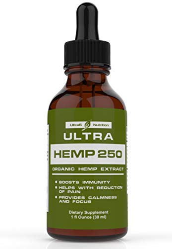 100% Pure Hemp Oil for Pain Relief - Best Selling Hemp Extract Helps with Anxiety Relief, Stress Relief, Arthritis Pain Relief - A Hemp Seed Oil, Natural Hemp Oil + Anxiety Oil. Made in USA