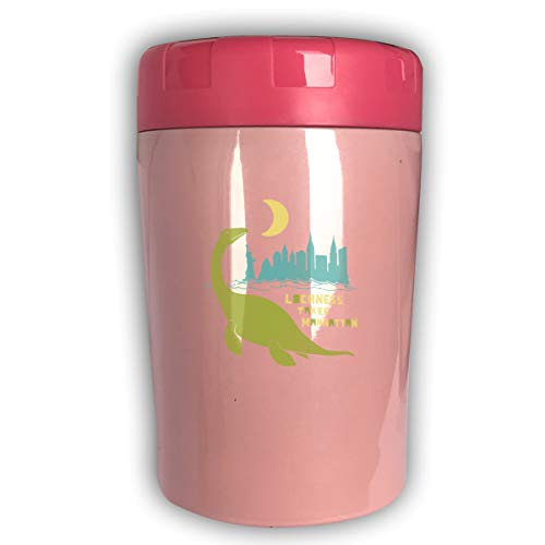 Chqeilng Oii LochNess Takes Manhattan 17 Oz Vacuum Insulated Stainless Steel Flask Braised Pot Student Lunch Box