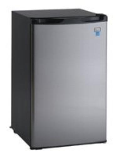 Avanti Model Rm4436ss - 4.4 Cf Counterhigh Refrigerator - Bl