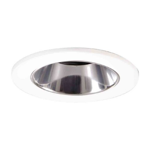 All-Pro ERT770TS Specular Trim Reflector with Torsion Springs for Compact Fluorescent Gloss White Trim Ring, 6