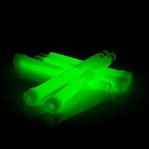 12 Glow Mind Light Sticks - Emergency Preparedness Supplies. Survival Gear for First Aid Kit and Military/Tactical Use. 6 Inch, 12 Hour Duration, Non Toxic and Ultra Bright with Easy Snap