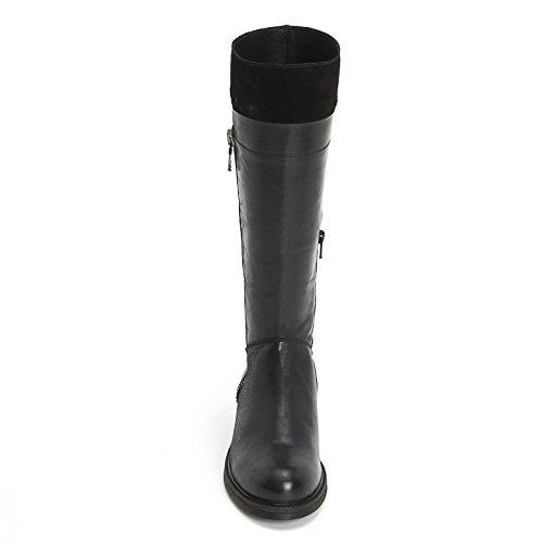 ALESYA by Scarpe&Scarpe - Stiefel mit seitlichem Reißverschluss, mit Absätzen 3 cm - 40,0, Schwarz