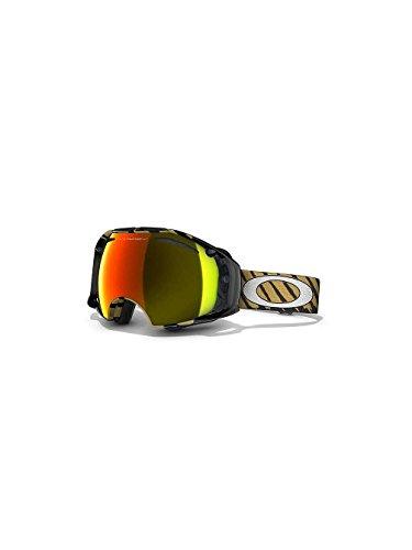 Oakley Airbrake Adult Goggles 2012; (Black/Fire - Ski Oakley Goggles New