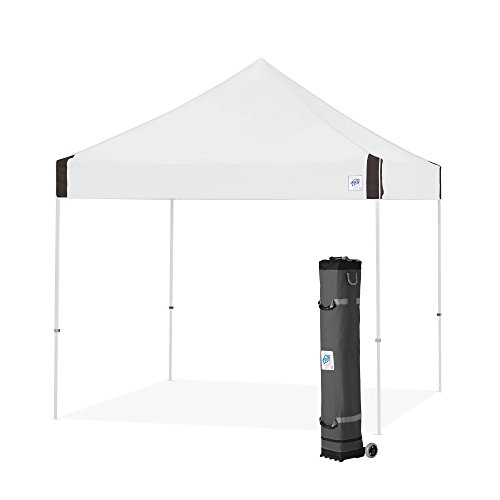 E-Z UP Vantage Instant Shelter Canopy, 10 by 10', White ()