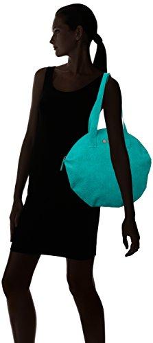 Skunkfunk Espadella, Shopper y Bolso de Hombro para Mujer, 5x38x39 cm (W x H x L) Turquesa (Turquoise)
