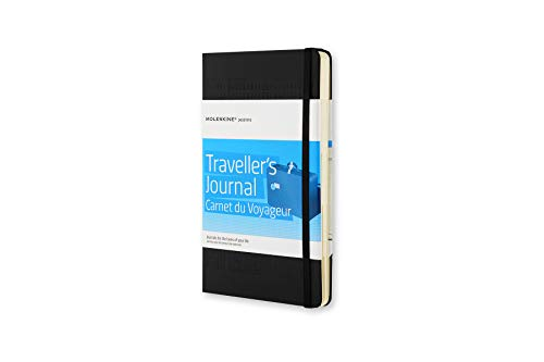 - Moleskine Passion Journal Hard Cover Notebook, Travel, Large (5