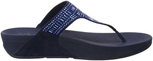 Sandali Blu 399 Sandals Incastone Fitflop Donna thong Navy Toe midnight wqBBIU