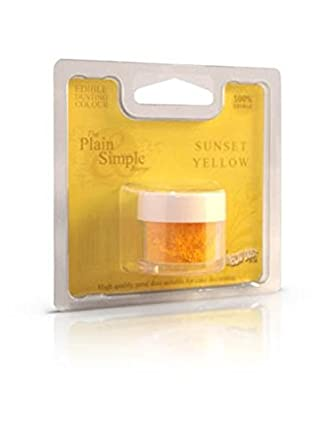 rainbow dust comestibles gteau colorant alimentaire poudre jaune solei - Colorant Alimentaire Jaune
