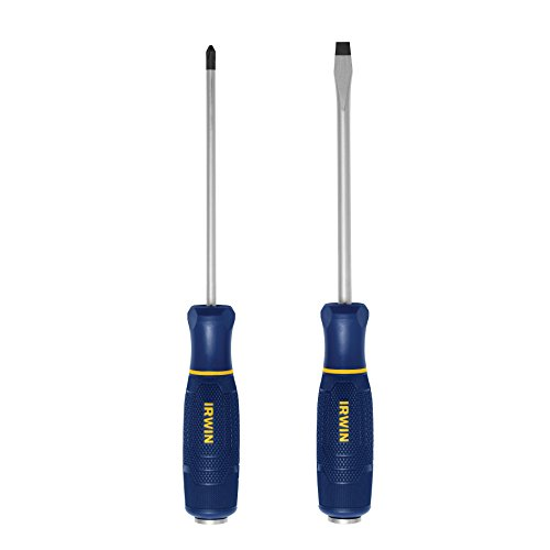 (Irwin Tools 1948798 Torque Zone Demolition Screwdriver Set, 2 Piece)