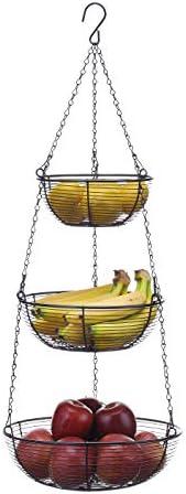 SunnyPoint Hanging Fruit Basket Coating