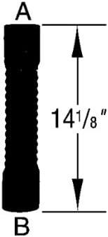 Dayco 81421 Flex Hose 2 X 14 1//8