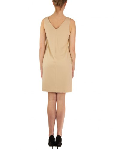 Damen Dekofalte mit Hoss jersey Ivory Intropia Stretch Kleid pwpxqnA