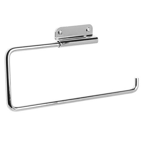 InterDesign Swivel Paper Towel Holder for Kitchen - Wall Mount/Under Cabinet, Chrome