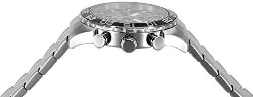 Invicta Men s 21375 Specialty Analog Display Quartz Silver-Tone Watch