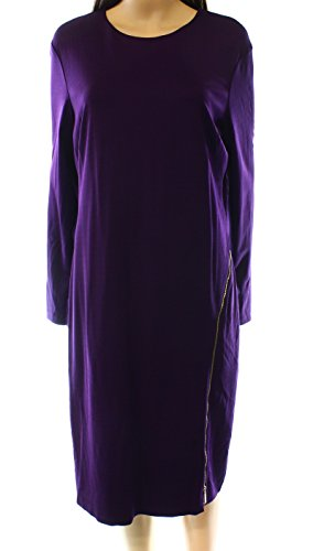 Zip Detail Sheath Dress - 7