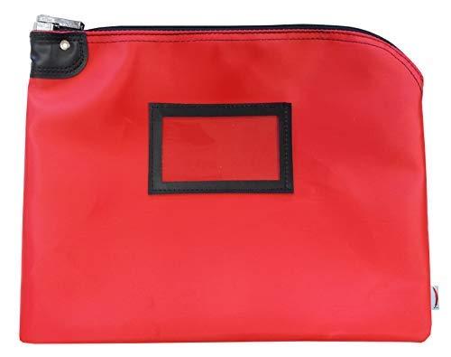 (Locking Document Security HIPAA Bag (Red) )