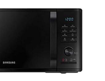 Samsung MG23K3515AK microondas Countertop (colocación) Microondas con grill 23 L 1250 W Negro