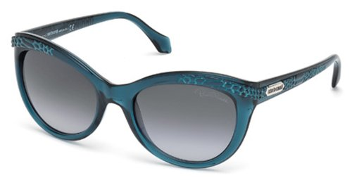 (Roberto Cavalli RC789S Sunglasses 92W Blue/Other New)