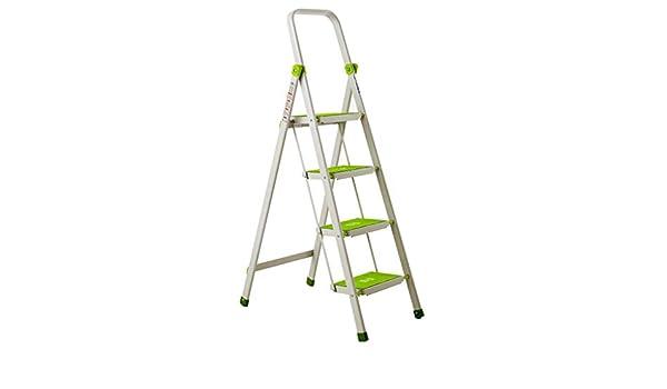 C-J-Xin Escalera de cuatro peldaños, escalera antideslizante Escalera de metal para exterior Sala de estar Dormitorio Cocina Escalera Tamaño 47 * 76 * 137 CM Escalera de casa (Tamaño : 47*76*137CM) : Amazon.es: Bricolaje y herramientas