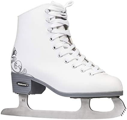 Rollerblade Bladerunner Ice Allure Women s Adult Figure Skates, White, Ice Skates
