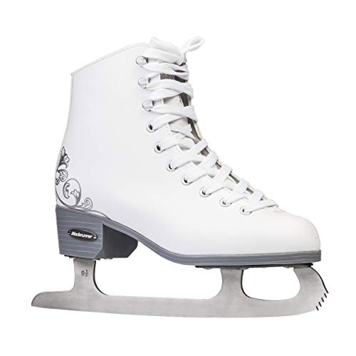 Girl Youth Recreational Ice Skates - Bladerunner Ice by Rollerblade Allure Girls Figure Skates, White, Ice Skates, Youth, Junior Size 4