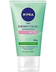 Sabonete em Gel Facial Nivea Controle do Brilho 150Ml, Nivea